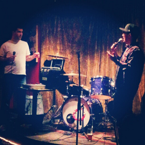 George Pettit and Sam Sutherland. Taken with Instagram.